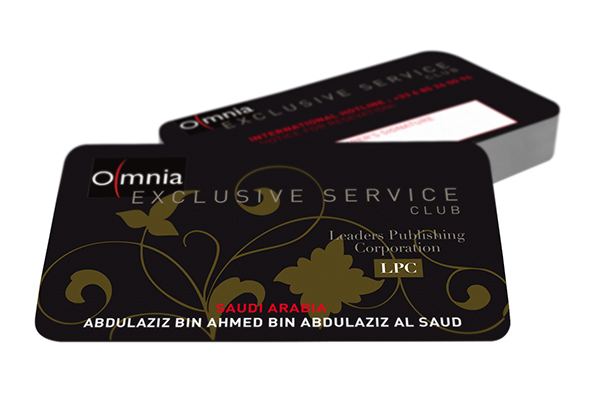 Carte exclusive Omnia